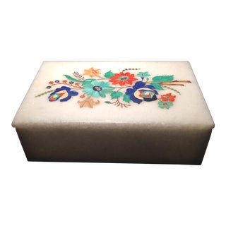 Stones & Marble Inlaid Box