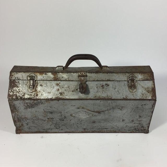 Vintage Industrial Toolbox - Image 3 of 8