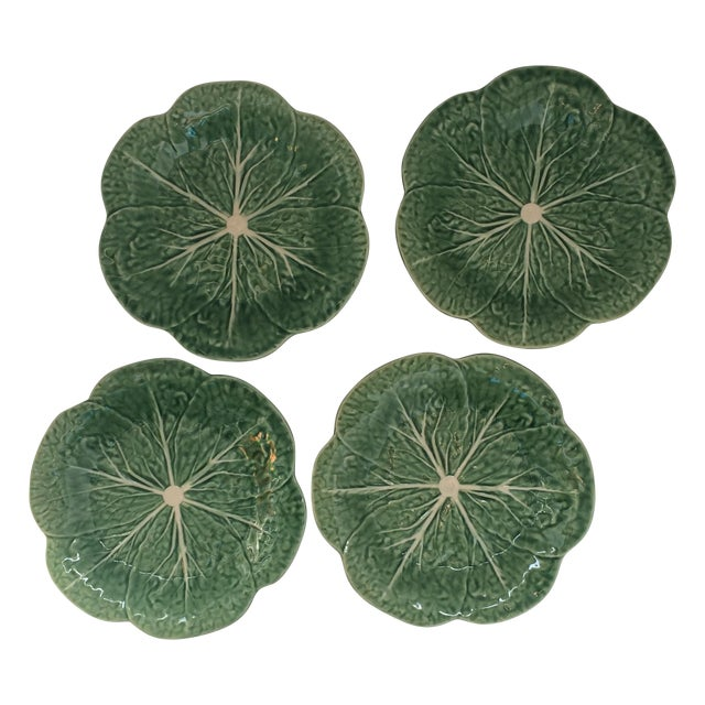 Lettuce Ware Plates - Set of 4 - Image 1 of 6
