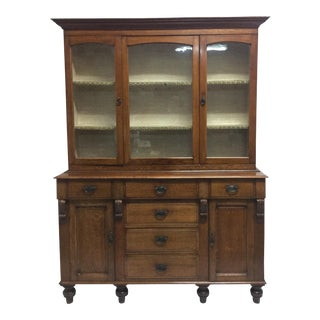 Hutch Sliding Glass Door Cupboard