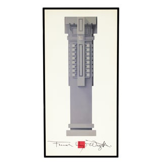 Rare Frank Lloyd Wright Poster