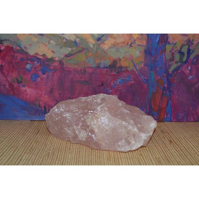 Rose Quartz Geode Stone - Image 11 of 11