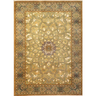 Pasargad Hand-Knotted Tabriz Rug - 5′ × 7'