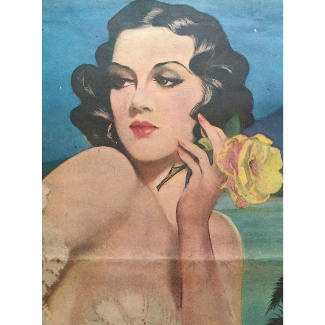 Image of Henry Clive Pin Up Girl Lithographs- A Pair