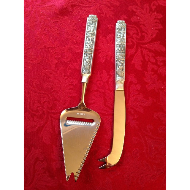 Image of Kongetinn Royal Pewter Cheese Set