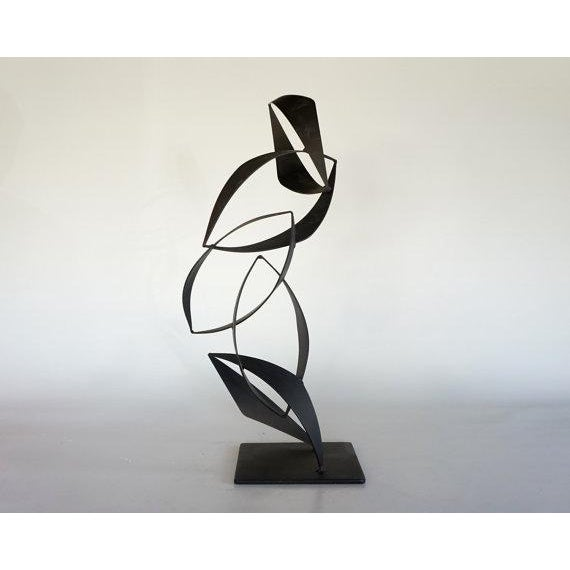 Maurizio Tempestini Style Iron Sculpture - Image 2 of 6