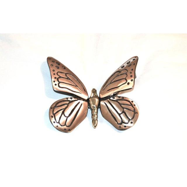 Image of Black & Gold Butterfly Door Knocker