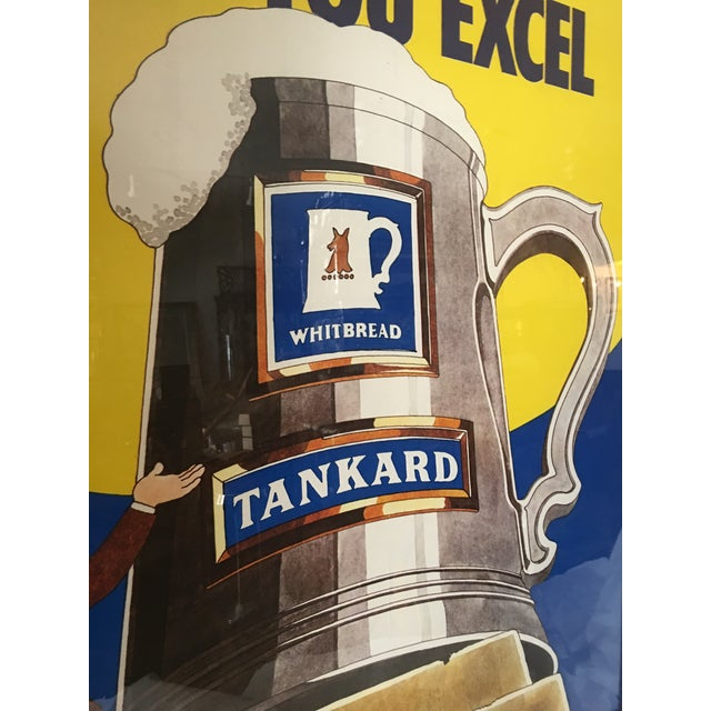 Original English Whitbred Tankard Ales Poster - Image 9 of 11