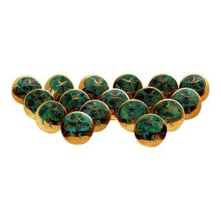 Set of 17 Los Castillo Decorative Pulls Knobs
