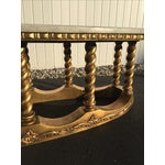 Image of Hollywood Regency Gold Gilt Marble Coffee Table