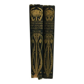1894 The Works of Edgar Allan Poe - 2 Volumes