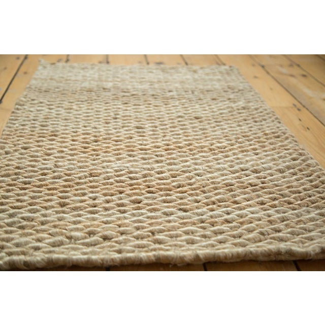 "Hand Braided Ivory Entrance Mat - 2'2"" X 3'2"" - Image 2 of 2"