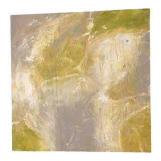 Kerri Rosenthal Abstract Green Painting