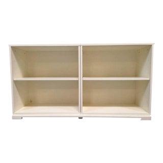 West Elm Contemporary White Laminate Wood Bookcase