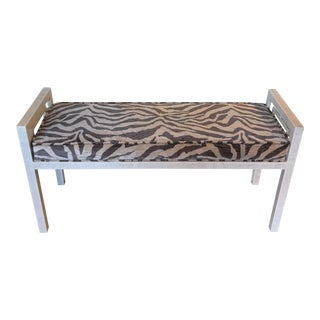 Metal Glam Bench