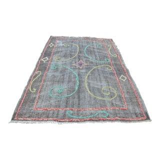 Handmade Turkish Anatolian Rug - 6′ × 9′
