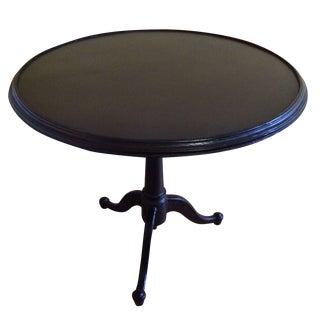 Restoration Hardware Metal Tilt-Top Table