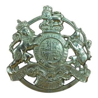 Brass Kings Arm Trivet
