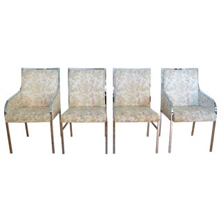 Pierre Cardin Dining Chairs - Set of 4