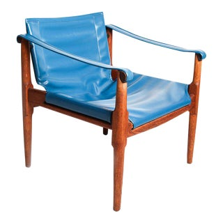 Douglas Heaslet for Brown & Saltman Mid-Century Modern Safari Chair