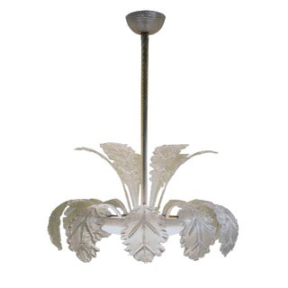 Barovier and Toso Glass Chandelier