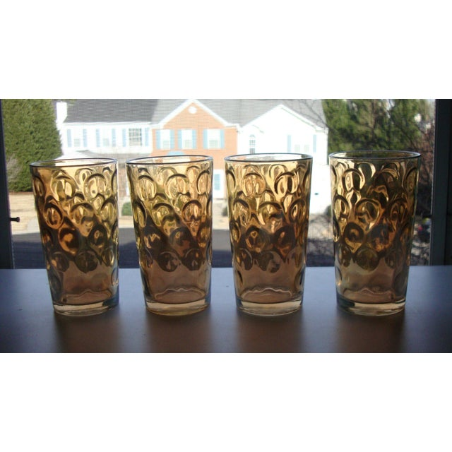 Mid-Century Hollywood Regency High Ball Glasses - Image 6 of 11