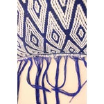 Image of Fringed Hand-Woven Ikat Pillow Cover From Sumba