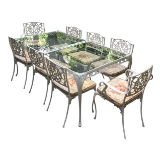 Southern Charm Iron Indoor Outdoor Patio Set