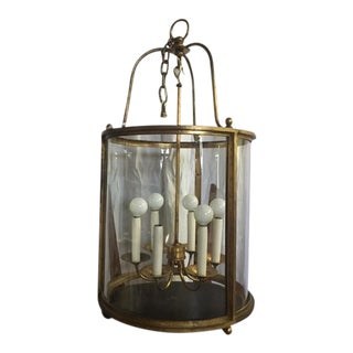 Gilt Gold Pendant Light