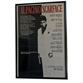 Original Scarface Theatrical Movie Poster