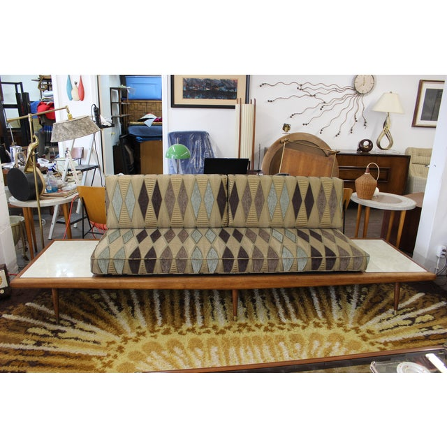 Mid Century Modern Adrian Pearsall Floating Sofa - Image 2 of 9