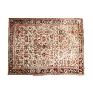"""Antique Sultanabad Carpet - 10'2"""" x 13'6"""""""