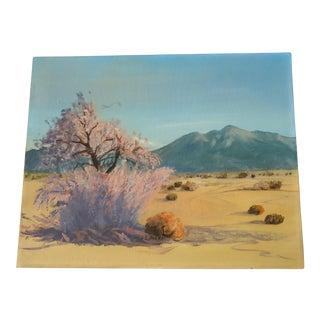 J.E. Nelson Desert Landscape Painting