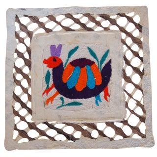 Otomi Embroidered Folk Art
