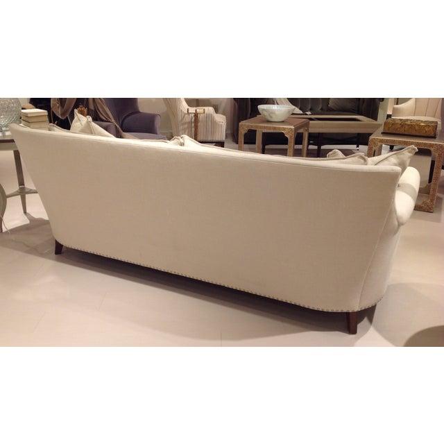 Lillian August Paris Linen Sofa - Image 5 of 9