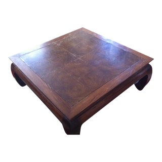 Ming Style Square Coffee Table
