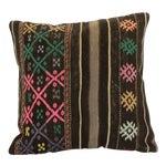 "Image of Handmade Wool Turkish Vintage Pillowcase - 16"" x 16"""