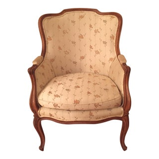 Vintage French Louis XVI Bergere Chair