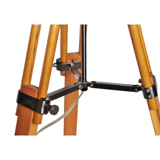 Vintage Adjustable Tri-Pod Lamp - Image 6 of 6