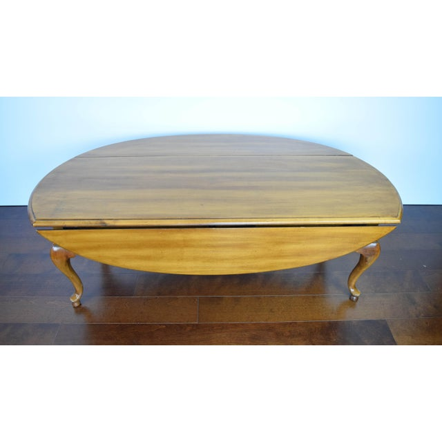 Image of Queen Anne Oval Coffee Table