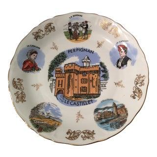 Vintage Limoges Veritable Porcelain Plate