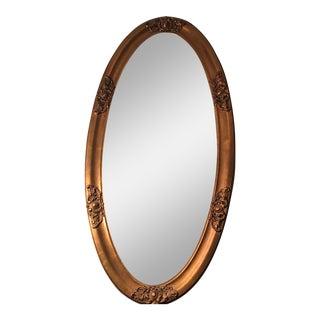 Vintage Gold Gilded Rococo Mirror