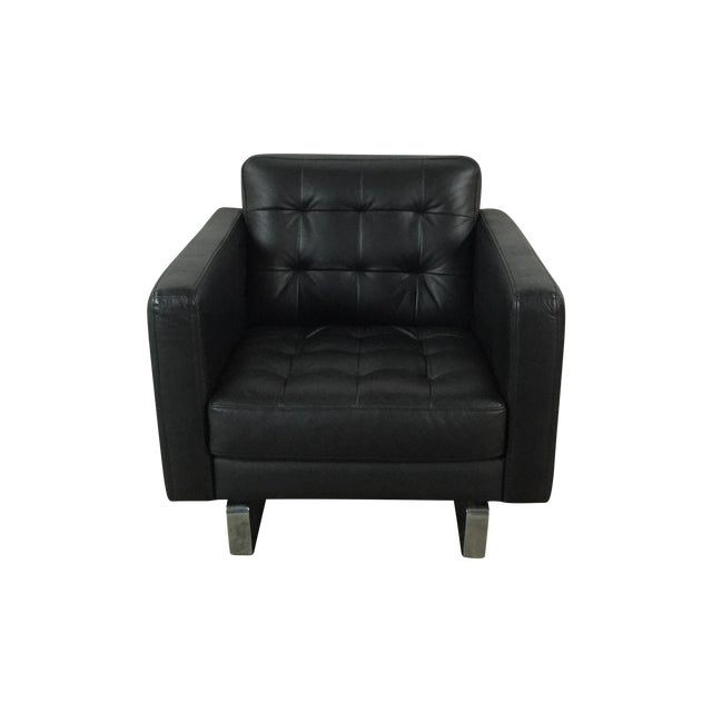 Image of Leather Club Chair by Scandinavian Designs