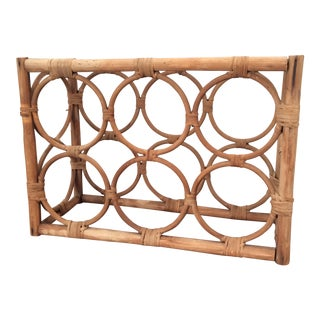 Vintage Boho Chic Wine Rack