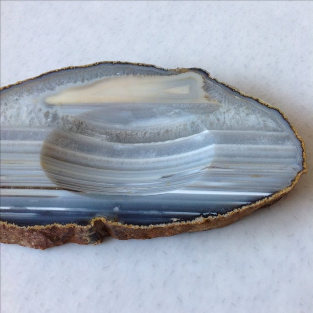 Striped Agate Quartz Dish - Image 4 of 11