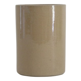 English Stoneware Crock Vase