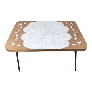 Mid-Century Formica Table, 1950s