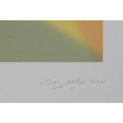 """Image of Barry Nelson, """"Agate,"""" Etching With Aquatint"""