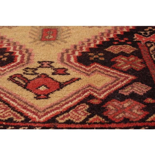 "Image of Vintage Rizbaft Afghan Tribal Rug- 3'5"" X 5'4"""