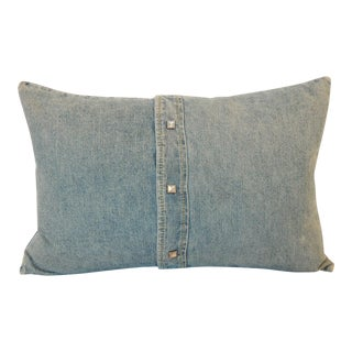 Ralph Lauren Denim Lumbar Pillow